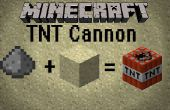 Comment faire un Canon minecraft TNT