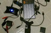 Multi-tension dispositifs de chargement alors qu'il campait avec panneau solaire