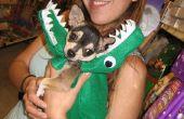 Gator, dragon, serpent costume pour chien ou prop... petite couture, poids léger et rapide