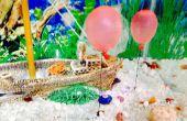 Bricolage Aquarium sous-marin ballons