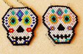 Crâne de perles de sucre brique piquer pendentif ¦ le coin de Craft