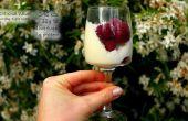 Blanc framboises de ft crème délice chocolat et noix de coco (GF)