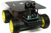 Wall-E s Cousin antisocial : objet évitant Arduino Robot commandé !