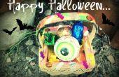 Décoration du panier Halloween facile
