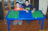 Comment faire une table Lego de tuyau en PVC