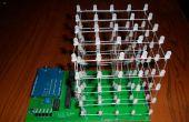 LED Cube avec Arduino et PCB personnalisé