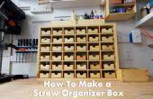Comment faire une boîte de bibliothèque pour stocker vis