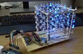 Conduit Cube 5 x 5 x 5 - un projet de petite étudiante.