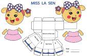 Comment faire un papercraft Sen de La Miss.