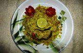 Oeuf riz frit