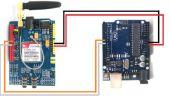 SIM900 GSM GPRS bouclier CON ARDUINO UNO