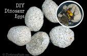 Des œufs de dinosaures DIY