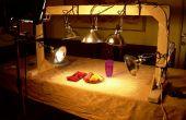 Comment construire un stand de nourriture photographie lumière