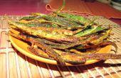 Deep Fried croustillant épicé gombo