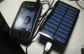 Chargeur solaire charge USB portable