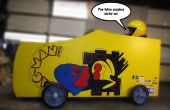 Pac-Man Soapbox Derby voiture