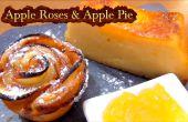Comment faire des roses de pommes et une tarte aux pommes délicieuse