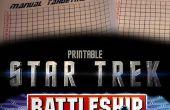 Star Trek cuirassé jeu Combat tactique (papier)