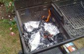 BBQ grillés papillotes de poulet