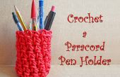 Crochet porte-stylo Paracord