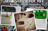 JavaScript pour ITO : clignotant LED sur Raspberry Pi avec Node.js