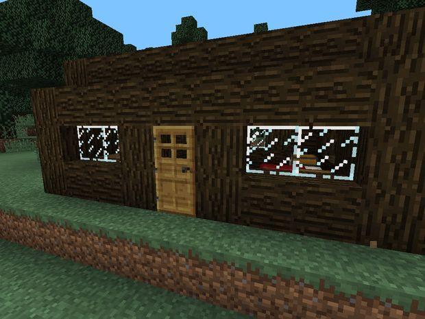Maison En Bois De Minecraft Tubefr Com