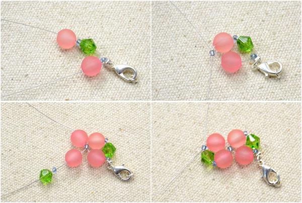 Facile A Angle Droit Tisser Bracelet Bricolage Etape 3 Faites Le Modele De Bracelet Perle Fleur Tubefr Com