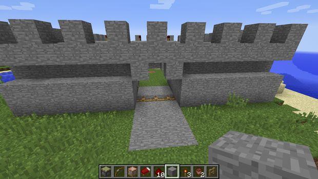 Comment Construire Une Maison Forteresse Dans Minecraft 1 8
