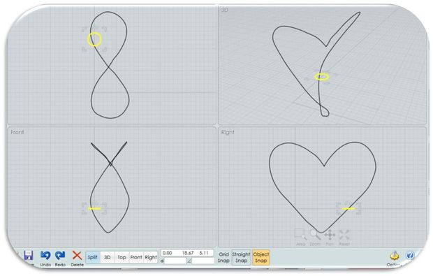 Dessin Facile Coeur 3d
