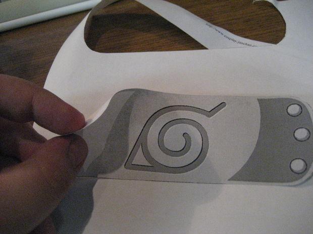 SGOT Naruto Bandeau de d/éguisement en m/étal pour Les Fans dAnime Style 03