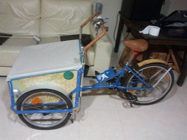 Fabuleux Construire un vélo cargo. - tubefr.com TL55
