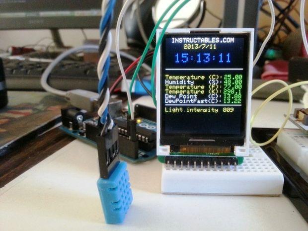 Surveillance De L Environnement Arduino Mini Mise 224