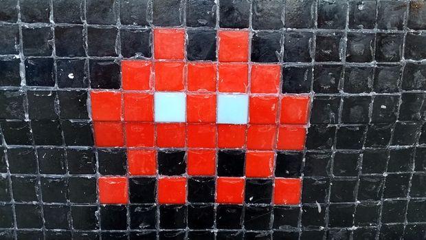 Mosaïque Carrelage Pixel Art Voiture Tubefrcom