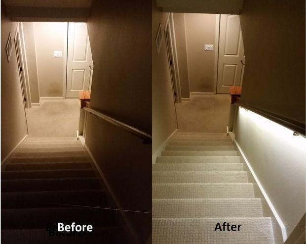 Solution D Eclairage D Escalier Avec Des Bandes De Led Tubefr Com