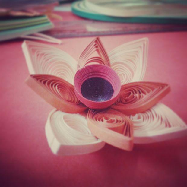 Papier Quilling Fleur Tubefr Com