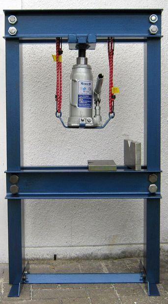 Construire Une Presse Hydraulique De 10 Tonnes