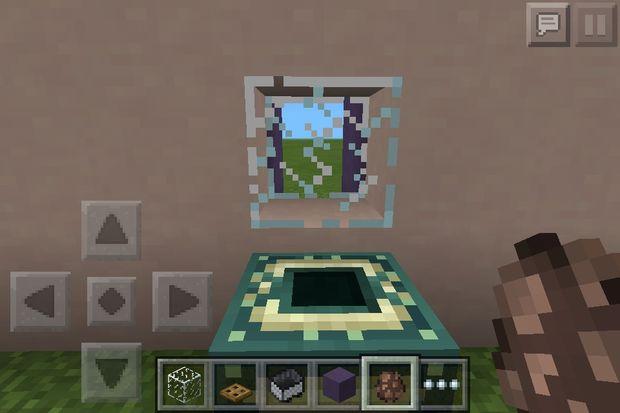 Salle De Bains Minecraft Trucs étape 3 Lavabo Et Miroir