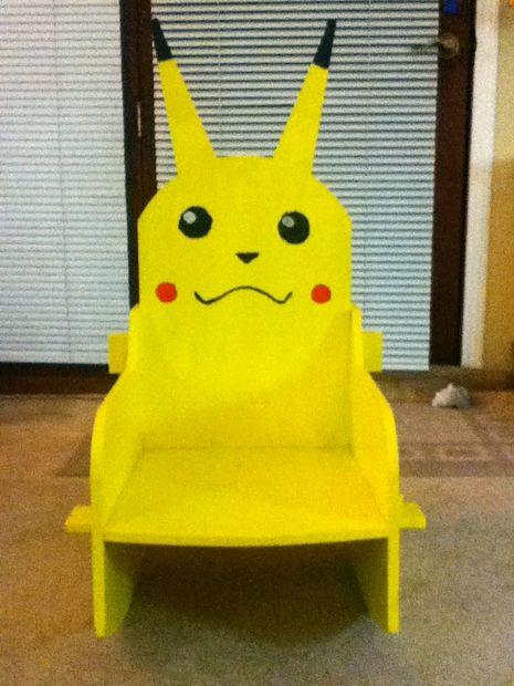 Fauteuil Pikachu