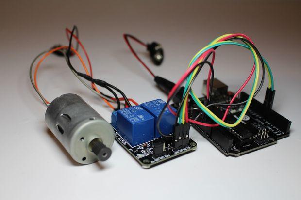 diy   commande moteur par relais commutateur