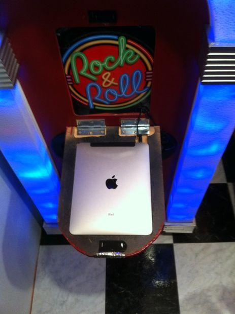 IPad Juke Box - rendent GLOW CHALLENGE - tubefr com