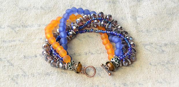 Comment Faire Un Brin De Multiples Ethniques Perles Bracelet Pour L