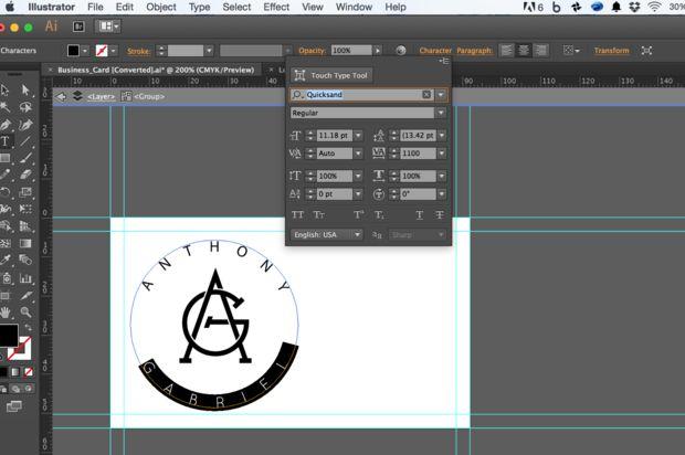Ce Instructable Dtaille Comment Concevoir Un Logo Carte De Visite Et Papier En Tte Laide DIllustrator InDesign