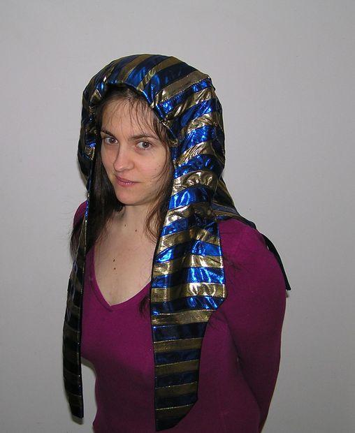 Faire Une Coiffe Egyptienne Antique Tubefr Com