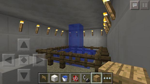 Comment Faire Une Salle De Bains De Minecraft étape 3