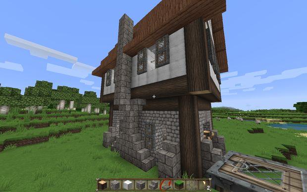 Comment construire une maison m di vale dans minecraft - Construire sa maison etape par etape ...
