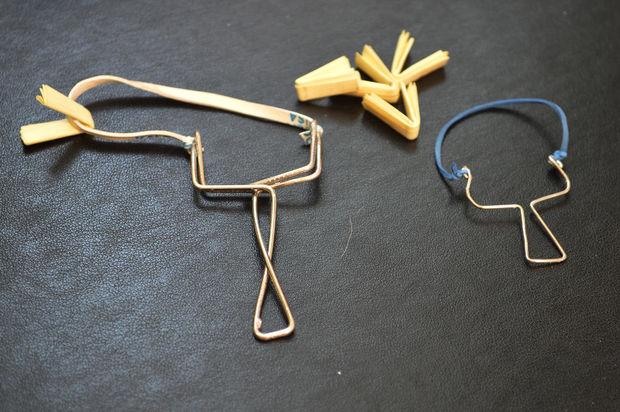 comment faire une fronde de trombone. Black Bedroom Furniture Sets. Home Design Ideas