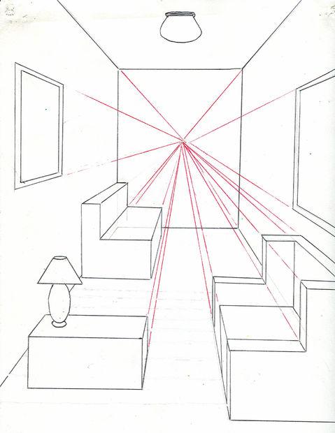 Comment dessiner A chambre en utilisant un Point point de vue ...