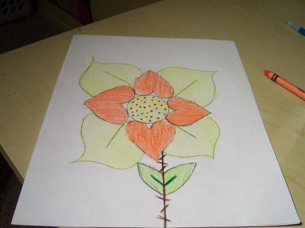 Comment Dessiner Une Fleur De L Amour étape 7 Ajouter La Texture