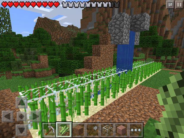 Automatis 233 De Ferme De La Canne 224 Sucre Dans Minecraft Pe