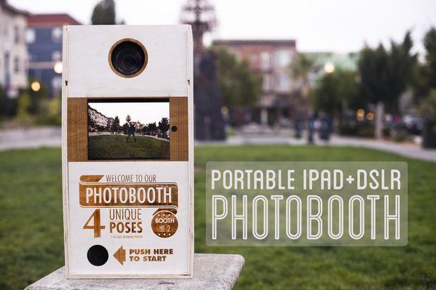 Extrêmement Photobooth portable (iPad + DSLR) - tubefr.com RK82